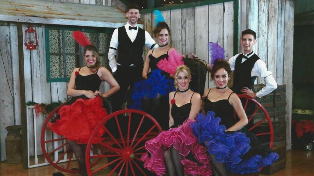 saloon girls dancers